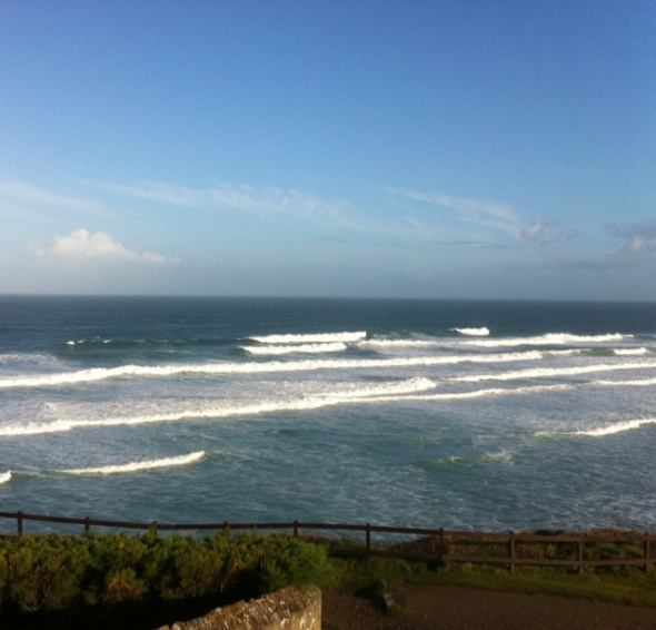 Perranporth (Droskyn) Surf Report Photo