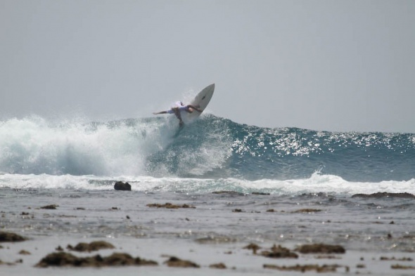Lances Left Surf Report Photo