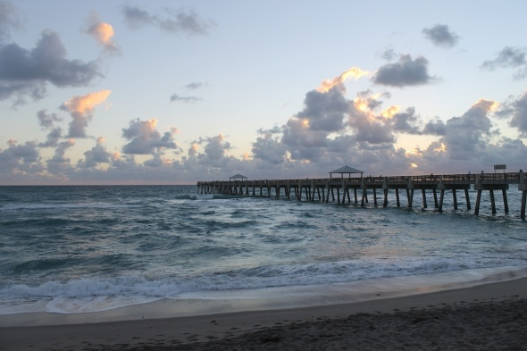 Juno Pier Surf Report Photo
