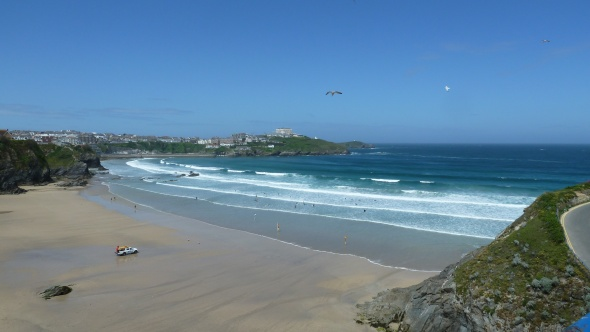 Newquay - Tolcarne Wedge Surf Report Photo