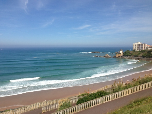 Cote des Basques Surf Report Photo